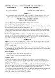 Nghị quyết số 54/2017/NQ-HĐND Tỉnh Nam Định
