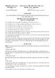 Nghị quyết số 60/2017/NQ-HĐND Tỉnh Đồng Nai