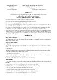 Nghị quyết số 05/2017/NQ-HĐND Tỉnh Cà Mau