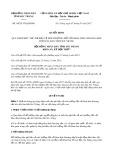 Nghị quyết số 04/2017/NQ-HĐND Tỉnh Sóc Trăng