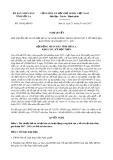 Nghị quyết số 55/NQ-HĐND Tỉnh Sơn La