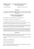 Nghị quyết số 56/2017/NQ-HĐND Tỉnh Hòa Bình