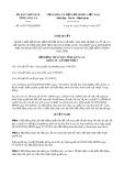 Nghị quyết số 01/2017/NQ-HĐND Tỉnh Long An