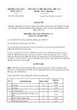 Nghị quyết số 02/2017/NQ-HĐND Tỉnh Long An