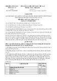Nghị quyết số 05/2017/NQ-HĐND Tỉnh Lào Cai