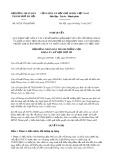 Nghị quyết số 05/2017/NQ-HĐND Thành Phố Hà Nội