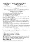 Nghị quyết số 03/2017/NQ-HĐND Tỉnh Bắc Kạn