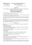 Nghị quyết số 52/2017/NQ-HĐND Tỉnh Nam Định