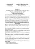 Nghị quyết số 52/2017/NQ-HĐND Tỉnh Lạng Sơn