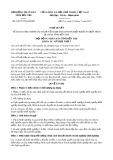 Nghị quyết số 04/2017/NQ-HĐND Tỉnh Bến Tre