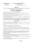 Nghị quyết số 05/NQ-HĐND Tỉnh Tiền Giang