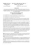 Nghị quyết số 45/2017/NQ-HĐND Tỉnh Hòa Bình