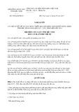 Nghị quyết số 44/NQ-HĐND Tỉnh Bắc Ninh