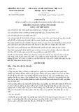 Nghị quyết số 39/2017/NQ-HĐND Tỉnh Ninh Thuận