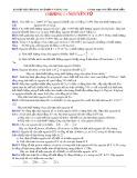 Bài tập tự luận Hóa học 10 cơ bản và nâng cao: Chương 1
