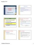 Bài giảng Lý thuyết tài chính tiền tệ: Chương 7 - ThS.Đặng Thị Quỳnh Anh