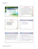 Bài giảng Lý thuyết tài chính tiền tệ: Chương 4 và 5 - ThS.Đặng Thị Quỳnh Anh