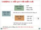 Bài giảng Kinh tế lượng: Chương 4 - Nguyễn Thị Thùy Trang