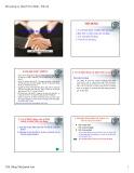 Bài giảng Lý thuyết tài chính tiền tệ: Chương 6 - ThS.Đặng Thị Quỳnh Anh
