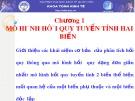 Bài giảng Kinh tế lượng: Chương 1 - Nguyễn Thị Thùy Trang