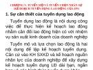 Bài giảng Quản trị nhân lực nâng cao: Chương 5 - TS. Nguyễn Tiến Mạnh