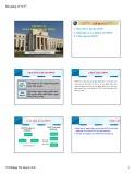 Bài giảng Lý thuyết tài chính tiền tệ: Chương 11 - ThS.Đặng Thị Quỳnh Anh