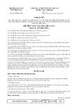 Nghị quyết số 06/2017/NQ-HĐND Tỉnh Tiền Giang