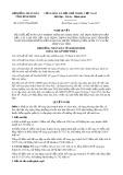 Nghị quyết số 63/2017/NQ-HĐND Tỉnh Bình Định