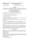 Nghị quyết số 11/2017/NQ-HĐND Tỉnh Tuyên Quang