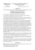 Nghị quyết số 11/NQ-HĐND Tỉnh Yên Bái