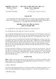 Nghị quyết số 08/2017/NQ-HĐND Tỉnh Sóc Trăng