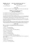Nghị quyết số 63/2017/NQ-HĐND Tỉnh Vĩnh Long