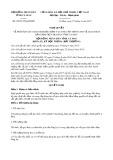 Nghị quyết số 09/2017/NQ-HĐND Tỉnh Cà Mau