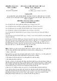 Nghị quyết số 06/2017/NQ-HĐND Tỉnh Cao Bằng