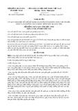 Nghị quyết số 63/2017/NQ-HĐND Tỉnh Bắc Ninh
