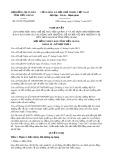Nghị quyết số 07/2017/NQ-HĐND Tỉnh Tiền Giang