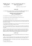 Nghị quyết số 06/2017/NQ-HĐND Tỉnh Thái Bình