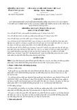 Nghị quyết số 06/2017/NQ-HĐND Tỉnh Tuyên Quang