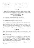 Nghị quyết số 10/2017/NQ-HĐND Tỉnh Cao Bằng