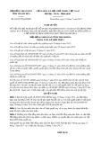 Nghị quyết số 62/2017/NQ-HĐND Tỉnh Thanh Hóa