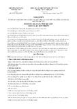 Nghị quyết số 06/2017/NQ-HĐND Tỉnh Bạc Liêu