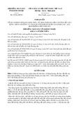 Nghị quyết số 29/2017/NQ-HĐND Tỉnh Bình Thuận