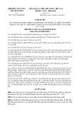 Nghị quyết số 75/2017/NQ-HĐND Tỉnh Bình Định