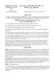 Nghị quyết số 12/2017/NQ-HĐND Tỉnh Bà Rịa - Vũng Tàu
