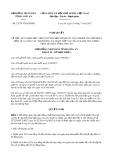Nghị quyết số 27/2017/NQ-HĐND Tỉnh  Long An