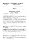 Nghị quyết số 31/2017/NQ-HĐND Tỉnh Long An