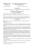 Nghị quyết số 19/2017/NQ-HĐND Tỉnh Tây Ninh