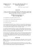Nghị quyết số 64/2017/NQ-HĐND Tỉnh Gia Lai