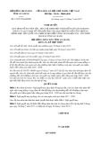 Nghị quyết số 17/2017/NQ-HĐND Tỉnh An Giang