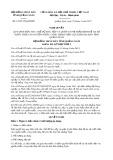 Nghị quyết số 19/2017/NQ-HĐND Tỉnh Quảng Ngãi